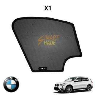 BMW X1 (Year 16-19) Simart Shade Premium Magnetic Sunshade