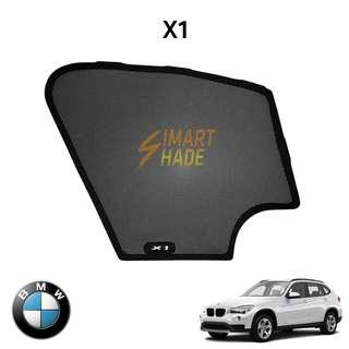 BMW X1 (Year 09-15) Simart Shade Premium Magnetic Sunshade