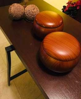 Laminate Lacquer Wooden Bowls (2 for $18)
