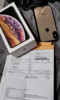 Iphonex s 金色64gb