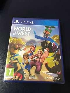 PS4 BNIB World to the West