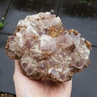 2kg Fluorite Crystal Cluster