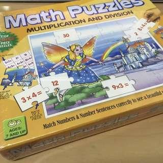 Creative Math Puzzles Multiplication and Division