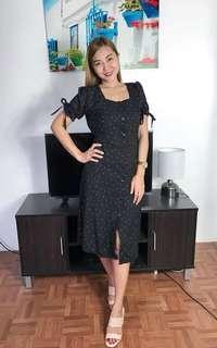 Alexa buttondown midi dress 💖