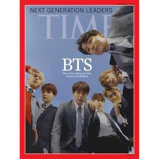BTS TIME MAGAZINE 2018