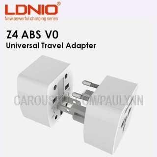 🚚 FREE POSTAGE Universal Travel Adapter LDNIO V4 Compact Travel Plug