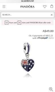 Authentic Pandora Australia Charm