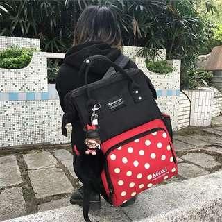 🚚 韓版多功能時尚媽媽包 內容大又好看