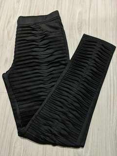 Kiyo black work formal pants