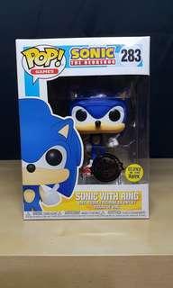 GITD Sonic with Ring Funko Pop