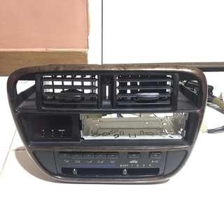 Honda civic ej/ek aircond panel single din