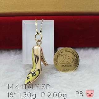 14k Italy Gold