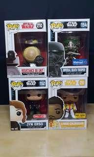 Star Wars Funko Pops!