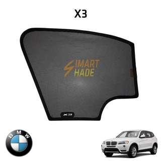 BMW X3 Simart Shade Premium Magnetic Sunshade