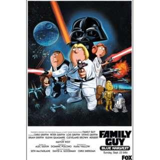 Family Guy Blue Harvest Movie Poster (Original)