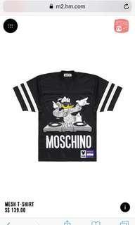 H&M Moschino Mesh T-Shirt