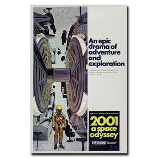 2001: A Space Odyssey Movie Poster
