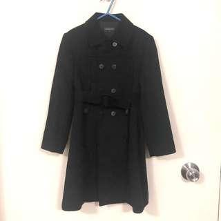 🈹80% off Nicholas & Bears Black Jacket 6Y 二折售女童黑色長裓褸