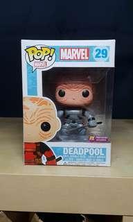 Unmasked X-Force Deadpool Funko Pop!
