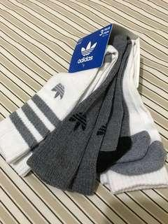 🚚 全新 adidas Originals 籃球襪🏀小腿肚中筒襪