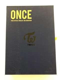TWICE 2ND TERM OFFICIAL FANCLUB GOODS