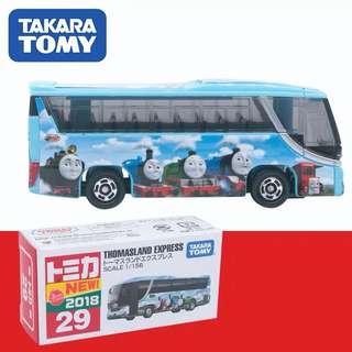 日本TOMICA Thomas托马斯快线旅游巴士