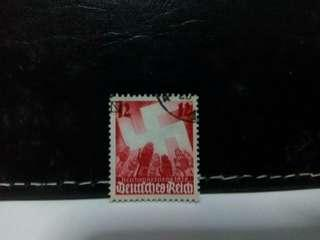 1936 Germany Stamp Swastika