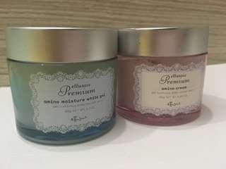 Ettusais Premium面霜(淨低一盒用過既粉紅色,藍色及全新粉紅已賣)