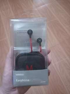 Miniso premium metal earphones