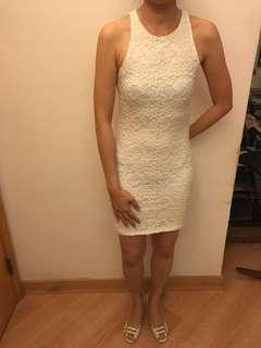 White Lace Dress - A&F