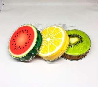 Dompet slempang bulat Fruits