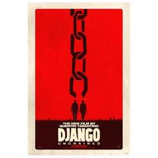 Django Unchained Movie Poster (Original)