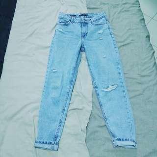 Bershka Denim Jeans Size S