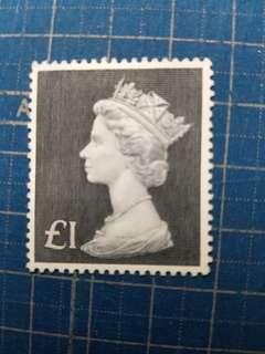 1970英國1磅新票