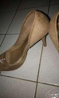 Brown High heels- Christian Siriano Payless