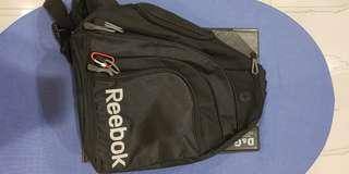reebok bag black authentic