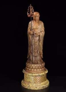 清 壽山石「地藏王菩薩」大造像