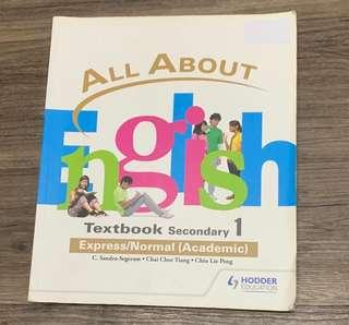All About English Textbook
