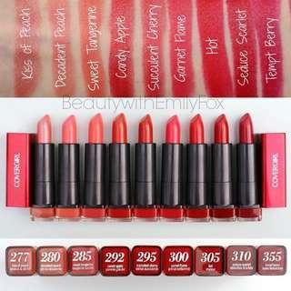 BNIP Covergirl Colorlicious Lipstick (305 Hot Chaleur)