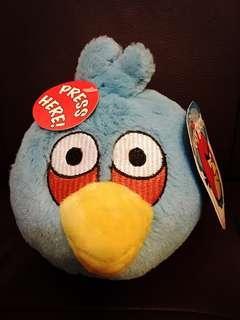🈹🈹🈹 Blue Angry Bird soft toy 藍色憤怒鳥公仔