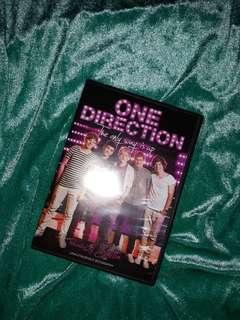 [MEET UPS ONLY] ONE DIRECTION - THE ONLY WAY IS UP DVD