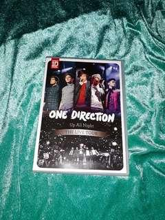 [MEET UPS ONLY] ONE DIRECTION - UP ALL NIGHT - THE LIVE TOUR dvd