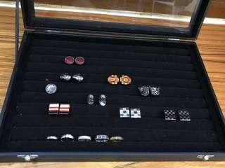 Cufflinks & Rings Storage Box