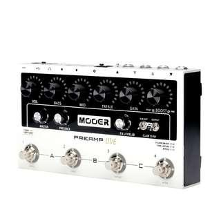 Mooer PreAmp Live - Digital Multi PreAMP Effects Pedal