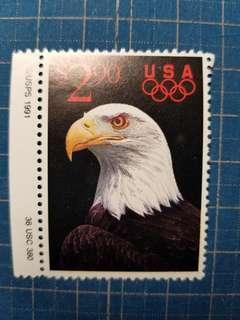1991美國鷹US$2.9新票