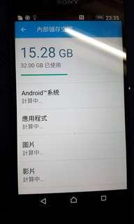 SonyZ3+行貨黑色3x32GB淨機無保養