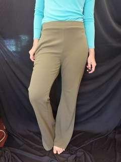 Green pants long
