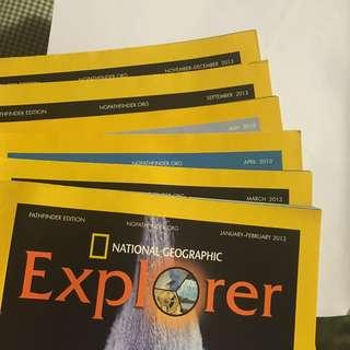 National Geographic Explorer! 2013