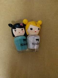 Kokeshi 福氣好運娃娃指甲油5ml
