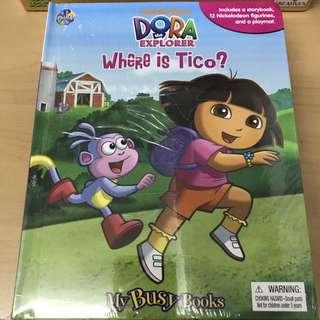 My Busy Books - Nickelodeon Dora the Explorer Where is Tico?